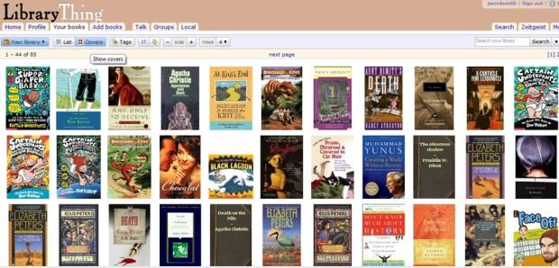 LibraryThing è ilsocial cataloging site che vanta il miglior motore di ricerca dei libri; il database si basa non solo su  Amazon,ma permette di importare i risultati delle più prestigiose librerie internazionali.
